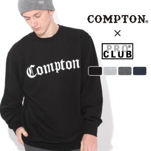 【送料無料】 トレーナー メンズ|プロクラブ コンプトン コラボ comxpc0002|PRO CLUB COMPTON OLD SCHOOL|f-box