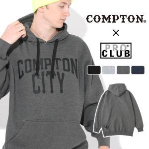 【送料無料】 パーカー プルオーバー メンズ|プロクラブ コンプトン コラボ comxpc0006|PRO CLUB COMPTON THE CITY|f-box