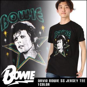 デヴィッド・ボウイ ロックTシャツ 半袖 メンズ プリント|大きいサイズ USAモデル David Bowie|半袖Tシャツ バンドT ロゴT ミュージック|f-box