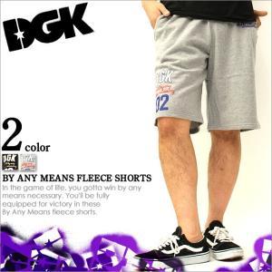 DGK ハーフパンツ メンズ スウェット ハーフパンツ (dgk-dsh50-51) (短パン ショートパンツ)|f-box