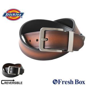 ディッキーズ ベルト リバーシブル メンズ 本革 レザー 11DI020006|大きいサイズ USA...