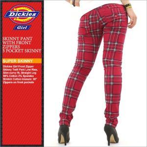 Dickies Girl ディッキーズガール スキニーパンツ レディース スキニー チェック チェック柄 大きいサイズ アメカジ ブランド 人気 通販 (1551jtp)|f-box