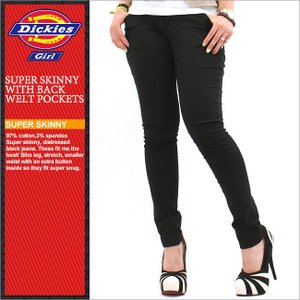 Dickies Girl ディッキーズガール スキニーパンツ レディース スキニー 大きいサイズ アメカジ ブランド 人気 通販 (1610j)|f-box