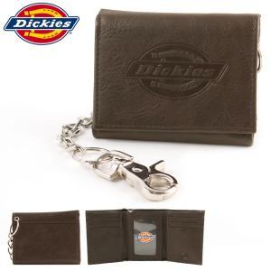 ディッキーズ 財布 三つ折り メンズ ウォレットチェーン 本革 31DI1127|USAモデル Dickies|f-box