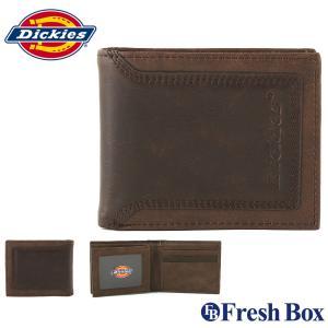 Dickies ディッキーズ 財布 メンズ 二つ折り ブランド カジュアル 本革 [dickies-31di130018] (USAモデル)|f-box