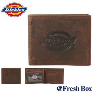 Dickies ディッキーズ 財布 メンズ 二つ折り ブランド カジュアル 本革 [dickies-31di240002] (USAモデル)|f-box