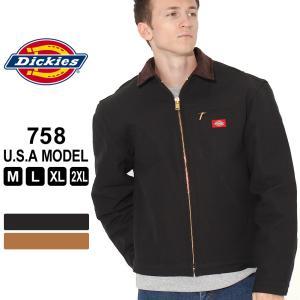 ディッキーズ ジャケット ダック ブランケットライニング 758 メンズ|大きいサイズ USAモデル Dickies|ワークジャケット 防寒 アウター ブルゾン|f-box