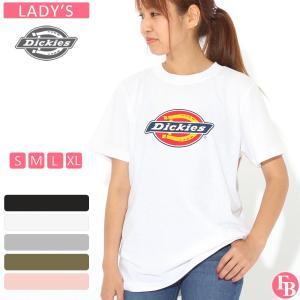 【ブラックフライデー】 [レディース] ディッキーズ Tシャツ 半袖 クルーネック ロゴ 大きいサイズ FS45R ブランド アメカジ カジュアル|f-box