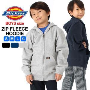 [キッズ] ディッキーズ パーカー ジップアップ スウェット KW604|大きいサイズ USAモデル Dickies Boys|子供 男の子 女の子|f-box
