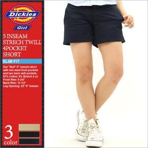 Dickies Girl ディッキーズ ガール ショートパンツ レディース ハーフパンツ 膝上 ストレッチ 大きいサイズ レディースファッション (Dickies nhh6016)|f-box