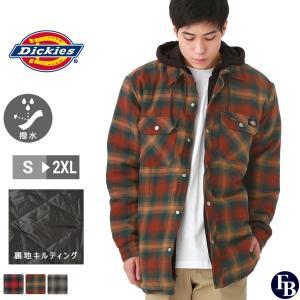 ディッキーズ ジャケット アウター メンズ フード付き 裏地付き チェック TJ211 S-2XL Dickies / 3L 大きさサイズ ブランド 定番アイテム|f-box