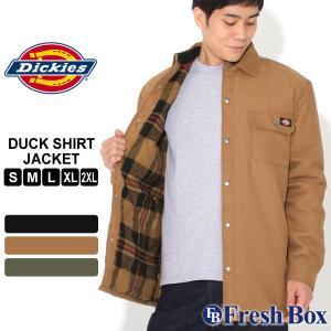 Dickies ディッキーズ ジャケット メンズ 秋 冬 アウター シャツジャケット キルティング ダック時 防寒 撥水 作業着 [dickies-tj215] (USAモデル)|f-box
