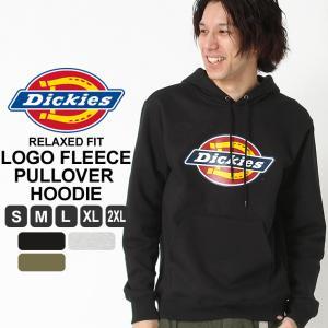 ディッキーズ パーカー プルオーバー ロゴ TW45A メンズ 裏起毛|大きいサイズ USAモデル Dickies|防寒 スウェット|f-box