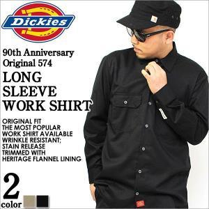 ディッキーズ/Dickies/Dickies/ディッキーズ ワークシャツシャツ/ワークシャツ 長袖/アメカジ ワークシャツ (Dickies wd574) f-box