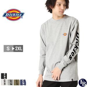 ディッキーズ Tシャツ 長袖 メンズ|大きいサイズ USAモデル Dickies|ロンT 長袖Tシャツ ロゴT|f-box