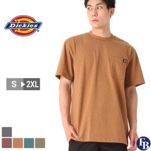 ディッキーズ Tシャツ 半袖 クルーネック ヘビーウェイト ポケット メンズ 大きいサイズ WS450 USAモデル|ブランド Dickies|半袖Tシャツ ポケT アメカジ|f-box