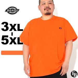 [ビッグサイズ] ディッキーズ Tシャツ 半袖 クルーネック ヘビーウェイト ポケット メンズ 大きいサイズ WS450 USAモデル|ブランド Dickies|半袖Tシャツ ポケT|f-box