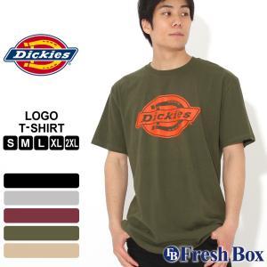 ディッキーズ Tシャツ 半袖 クルーネック メンズ 大きいサイズ WS46A USAモデル|ブランド Dickies|半袖Tシャツ アメカジ|f-box
