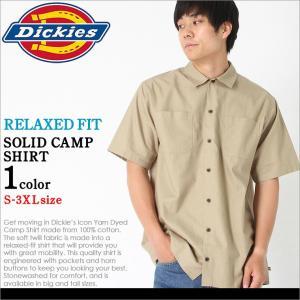 Dickies ディッキーズ シャツ 半袖 大きいサイズ メンズ シャツ メンズ 半袖 キャンプシャツ 半袖シャツ メンズ アメカジ|f-box