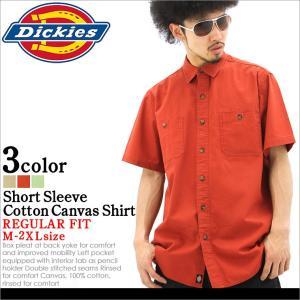 Dickies ディッキーズ シャツ メンズ 半袖 大きいサイズ カジュアルシャツ 半袖シャツ 無地 アメカジ ブランド ディッキーズ シャツ 半袖|f-box