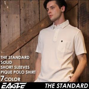 ポロシャツ 半袖 メンズ ポケット 鹿の子 大きいサイズ 日本規格|ブランド EAGLE THE STANDARD イーグル|f-box