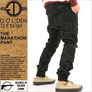 ジョガーパンツ メンズ/サルエルパンツ メンズ/ジョガーパンツ/サルエル 柄/ストリート/大きいサイズ/通販/GOLDEN DENIM/ゴールデンデニム f-box