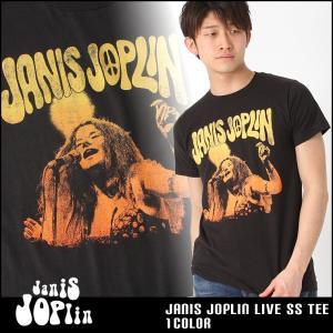 ジャニス・ジョプリン Tシャツ 半袖 メンズ プリント|大きいサイズ USAモデル Janis Joplin|半袖Tシャツ バンドT ロゴT ミュージック|f-box