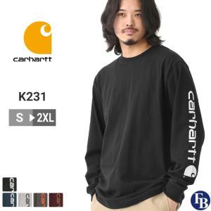カーハート Tシャツ 半袖 クルーネック ヘビーウェイト メンズ 大きいサイズ K195|ブランド 半袖Tシャツ アメカジ USAモデル|f-box