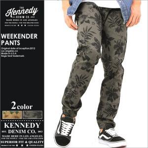 KENNEDY DENIM ジョガーパンツ メンズ 花柄 パンツ ストリート 大きいサイズ|f-box