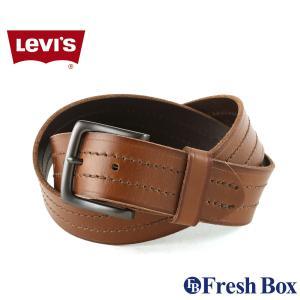 Levi's リーバイス ベルト メンズ 本革 ブランド カジュアル 大きいサイズ [levis-11lv120081] (USAモデル)|f-box