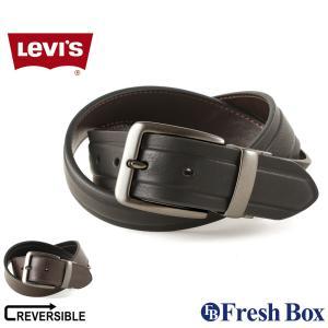 Levi's リーバイス ベルト メンズ 本革 ブランド カジュアル リバーシブル 大きいサイズ [levis-11lv120z01] (USAモデル) f-box