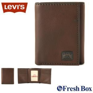 Levi's リーバイス 財布 メンズ 三つ折り ブランド カジュアル 本革 コンパクト [levis-31lv110002] (USAモデル)|f-box
