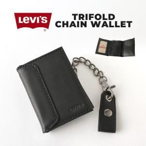 リーバイス 財布 三つ折り メンズ 本革 レザー 31lv1194 USAモデル|ブランド Levi's Levis|三つ折り財布 アメカジ カジュアル|f-box