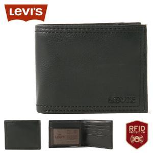 リーバイス 財布 二つ折り 中ベラ付き パスケース 本革 31LV240012 USAモデル|ブランド Levi's Levis|f-box