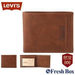 Levi's リーバイス 財布 メンズ 二つ折り ブランド カジュアル 本革 [levis-31lv240013] USAモデル|f-box