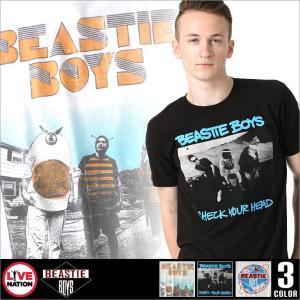 ビースティ・ボーイズ Tシャツ 半袖 メンズ プリント|大きいサイズ USAモデル Beastie Boys LIVE NATION ライブネーション|半袖Tシャツ バンドT ロゴT|f-box