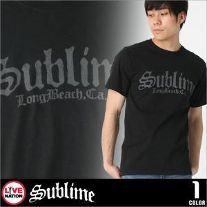サブライム Tシャツ 半袖 メンズ プリント|大きいサイズ USAモデル Sublime LIVE NATION ライブネーション|半袖Tシャツ バンドT ロゴT ミュージック|f-box