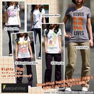 Mighty Fine【マイティーファイン】レディース/キャラクターTシャツ(mity-45)|f-box