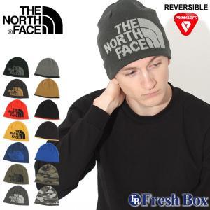 ノースフェイス ニット帽 TNF ロゴ リバーシブル メンズ レディース NF00A5WG USAモデル|ブランド THE NORTH FACE|帽子 ビーニー ニットキャップ|f-box