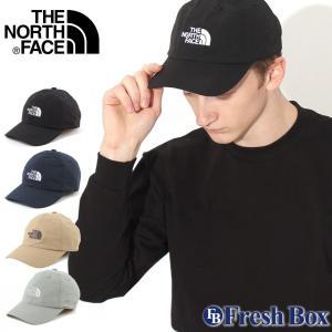 ノースフェイス キャップ TNF ロゴ メンズ レディース NF00CF7W USAモデル|ブランド THE NORTH FACE|帽子 ローキャップ サイズ調整可能|f-box