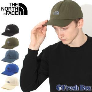 ノースフェイス キャップ TNF ロゴ メンズ レディース NF0A355W USAモデル ブランド THE NORTH FACE 帽子 ローキャップ サイズ調整可能 f-box