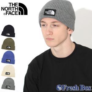 ノースフェイス ニット帽 TNF スクエア ロゴ メンズ レディース NF0A3FJX USAモデル ブランド THE NORTH FACE 帽子 ビーニー ニットキャップ f-box