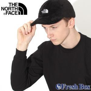 ノースフェイス キャップ TNF ロゴ パイル フリース レディース メンズ NF0A3FNH USAモデル ブランド THE NORTH FACE 帽子 ローキャップ サイズ調整可能 f-box