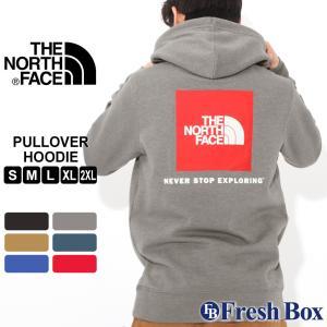 ノースフェイス パーカー ボックスロゴ TNF プルオーバー 裏起毛 薄手 メンズ NF0A3FRE USAモデル|ブランド THE NORTH FACE|フード スウェット スエット|f-box