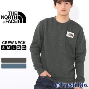 ノースフェイス トレーナー スウェット TNF ロゴ 長袖 裏起毛 薄手 メンズ NF0A3X8O USAモデル|ブランド THE NORTH FACE|スエット アメカジ|f-box