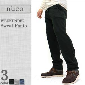 ニューコ/nuco/スウェットパンツ メンズ/スウェット/スリム/細見 (nuco m6034)|f-box