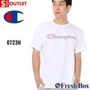 アウトレット 返品・交換・キャンセル不可|チャンピオン Tシャツ 半袖 クルーネック メンズ 大きいサイズ GT23H Y08126|ブランド Champion|半袖Tシャツ|f-box