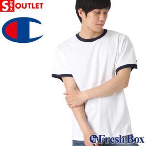 アウトレット 返品・交換・キャンセル不可|チャンピオン Tシャツ 半袖 メンズ 大きいサイズ ブランド 半袖Tシャツ ロゴ アメカジ Champion|f-box