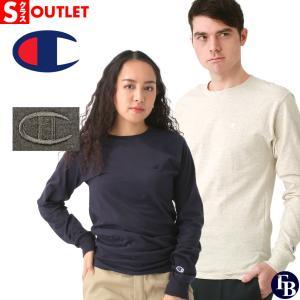 アウトレット 返品・交換・キャンセル不可|チャンピオン Tシャツ 長袖 メンズ 大きいサイズ ブランド ロンT 長袖Tシャツ ロゴ アメカジ Champion|f-box