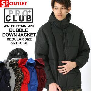 アウトレット 返品・交換・キャンセル不可 │ PRO CLUB プロクラブ 中綿 ジャケット メンズ アウター ブルゾン 大きいサイズ|f-box